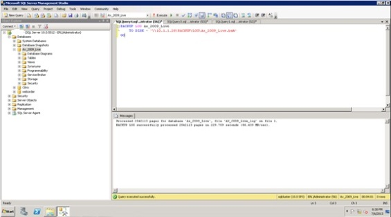Database Mirroring